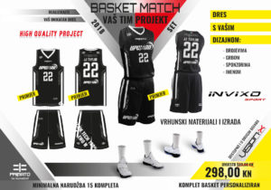 Komplet Basket Match