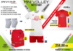 Start komplet Mini Volley